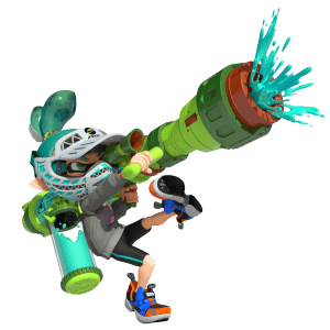 Splatoon Kid Bazooka Image